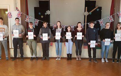 Englischolympiade an der Seminarschule