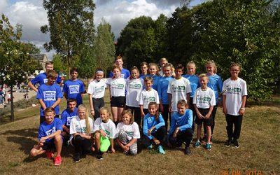 Pokalgewinn beim Hofaupark-Staffellauf