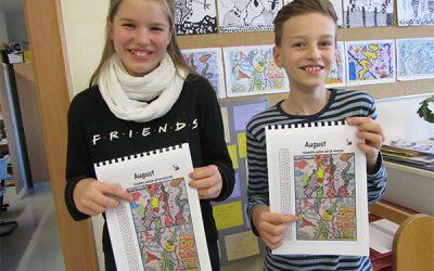 Schuleigener Kunstkalender 2019