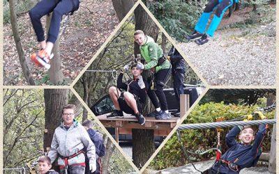 Wandertag der Klasse 7a zum Kletterwald in Schöneck