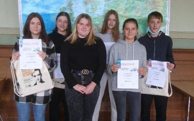 16. Sächsische Geographie – Olympiade, Stufe 1: Ermittlung des Schulsiegers